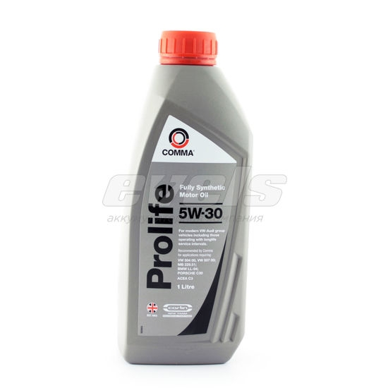 Масло моторное синтетическое PROLIFE 5W-30, 1л